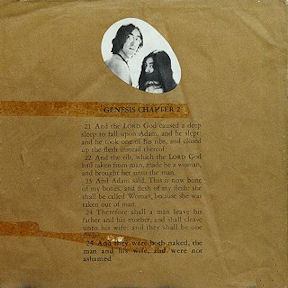 censura_John Lennon And Yoko Ono - Unfinished Music Number 1, Two Virgins (contraportada censurada USA)