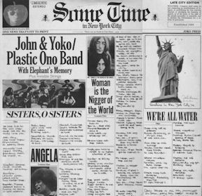 censura_John Lennon And Yoko Ono Plastic Ono Band - Sometime In New York City (portada censurada)