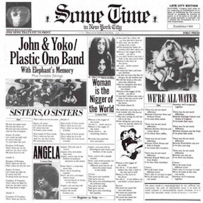 censura_John Lennon And Yoko Ono Plastic Ono Band - Sometime In New York City (portada original)