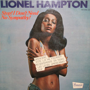 censura_Lionel Hampton - Stop I Dont Need No Sympathy (portada censurada)